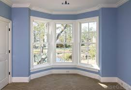 Bay windows typically project outward from a house, giving it an increased  sense of space.