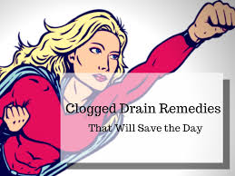 Home Remedies For A Clogged Drain Dengarden