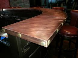 Wood Bar Top Custom Bar Top Ideas Kchsus Kchsus