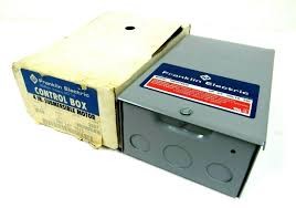 Franklin Electric Wire Sizing Chart Control Box 3 4hp 230v 1phase