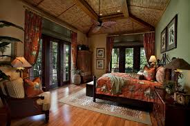 Beach Front I tropical-bedroom