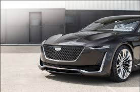 2018 cadillac escala. interesting cadillac cadillac u0027escalau0027 concept reveal event inside 2018 cadillac escala