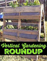 vertical gardening roundup the a frame pallet planter detailed building plans and planting