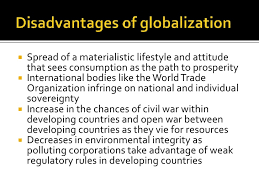 globalization advantages disadvantages advantages of globalization<br