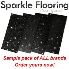 samples black sparkly flooring glitter effect vinyl floor sparkle lino next