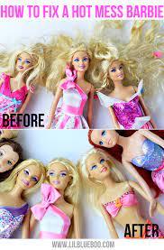 how to detangle doll hair tutorial