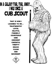 Small Picture Akelas Council Cub Scout Leader Training Chewbacca Was Once a