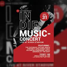 Concert Poster Design Music Poster Png Images Vector And Psd Files Free