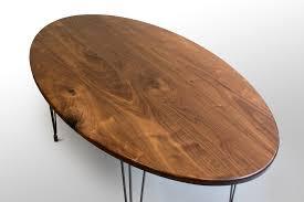 Walnut Percy Dining table Grain Control mid century modern
