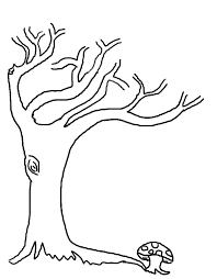 Small Picture Coloring Page Tree Trunk Coloring Pages