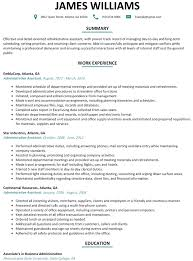 Free Administrative Assistant Resume Template Executive Assistant Resume Sample Free Ninjaturtletechrepairsco 23