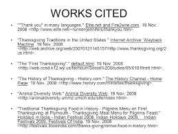 Works Cited Example Works Cited Correct Format For Websites Ppt Video Online Download