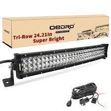 24 Inch Light Bar With Wiring Harness Tri Row Light Bar Pogot Bietthunghiduong Co