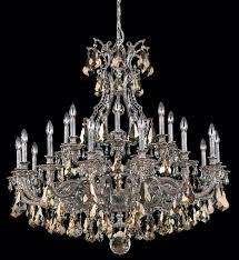 swarovski elements crystal chandelier schonbek 6961 76sh sophia 42 inch heirloom bronze silver shade swarovski elements undefined