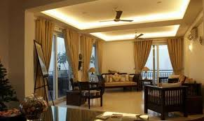 indirect lighting ceiling. Lighting Fixtures , Home Ceiling Indirect Light : Family Room With Wooden Furniture And Cove