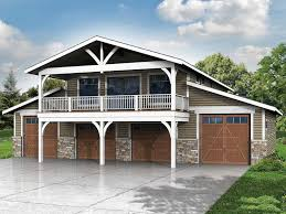 051g 0075 6 car garage plan with recreation room