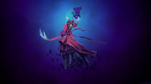 wallpaper death prophet dota 2 regalia of the mortal coil hd