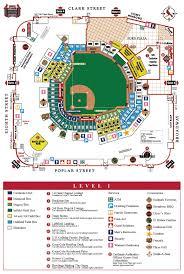 Judicious Busch Stadium Suite Map Busch Stadium Seating