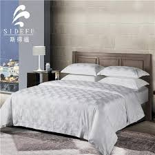 jacquard bed linen 5 star hotel manufacturers and suppliers china whole from factory sidefu textile