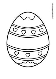 Small Picture Free Online Easter Egg 2 Colouring Page Kids Activity Sheets