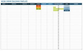 Customer Call Sheet Template 15 Free Work Order Templates Smartsheet