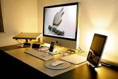 stylish office desk setup. Workspace Inspiration #10. Student OfficeMac DeskDesk SetupWorkspace Design Stylish Office Desk Setup