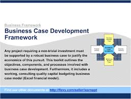 It Project Business Case Template Business Case Development Framework PowerPoint 20