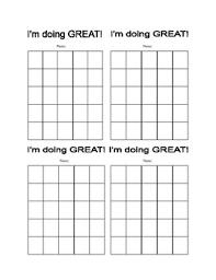 Student Sticker Chart Incentive