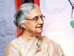முன்னாள் முதல்மந்திரி ஷீலா தீட்சித் காலமானார்