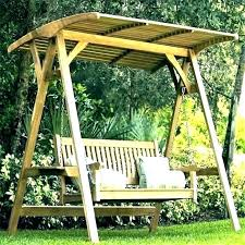 patio swing cover replacement patio swing y replacement outdoor with garden wooden l patio swing y