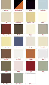 Heritage Lace Color Chart Avada Classic Shop
