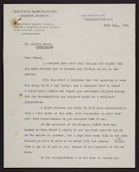 Letters from Gray Young Morton and Young | Items | National Library of New  Zealand | National Library of New Zealand