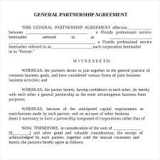 Partnership Agreement Sample 9 Free Documents In Word Technical ...