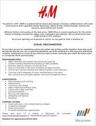Resume For Visual Merchandiser Copy 3 2015 Visual Merchandising