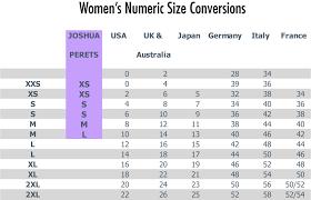 Ladies Size Chart Fits