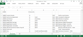Sage Ubs Accounting Chart Of Account Sample Www