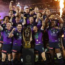 The melbourne storm nrl team is based in melbourne, victoria nd was founded in 1997, joining the national rugby league in 1998. Melbourne Storm Blow Away Cowboys To Secure Nrl Premiership Nrl The Guardian