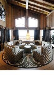 curved settee for round dining trends with fascinating table ideas