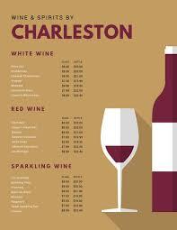 Wine Border Template Tan Maroon Illustrated Simple Wine Menu Templates By Canva