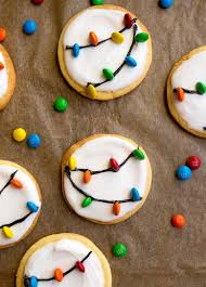 lights cookies for santa a small batch sugar cookie recipe with easy royal icing