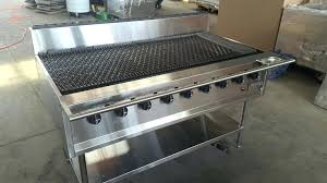 indoor gas grill built in amazing top outdoor kitchen flat griddle home interior 42