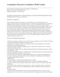 Community Outreach Resume Sample Bunch Ideas Of Community Outreach Manager Resume Brilliant Munity 1