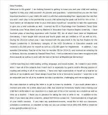 Parents Letter To Teacher Templates For Parent Letters Ustam Co