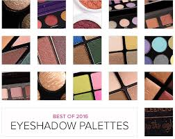 top 16 of 2016 best eyeshadow palettes