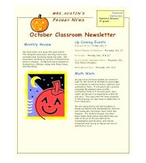 School Newsletter Template For Word Elementary School Counselor Newsletter Template Elementary School