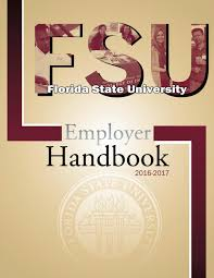 Famu Graphic Design Curriculum Fsu Employer Handbook 2016 2017 By Florida State University