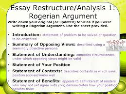 rogerian essay sample co rogerian essay sample