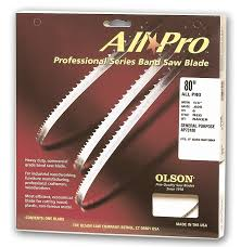80 bandsaw blade. olson all-pro bandsaw blades 80 blade c