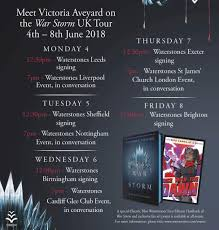 to any uk fans on this amino there s a special announcement for you victoria aveyard will be visiting again in the united kingdom this june