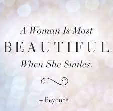 Quote Of Beauty In A Woman Best Of Beauty Quotes A Women Is Most Beautiful When She Smiles Beauty